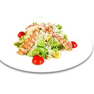 Цезарь с цыпленком салат Фото