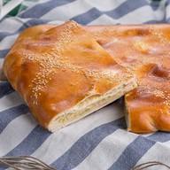 Пирог с горбушей и капустой Фото