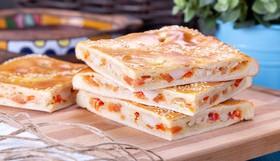 Пирог с курицей, перцем и томатами - Фото