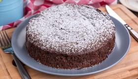 Шоколадный пирог с вишней - Фото
