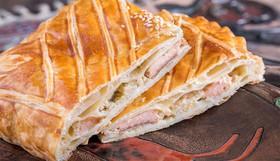 Слоеный пирог с горбушей - Фото