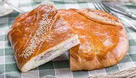 Пирог с курицей и картофелем - Фото