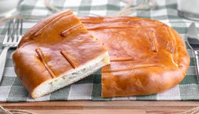 Пирог с картофелем - Фото