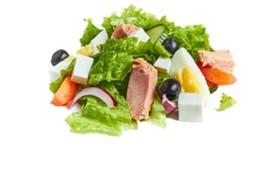 Салат с тунцом - Фото