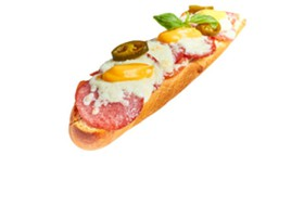 Горячий сэндвич с пепперони - Фото