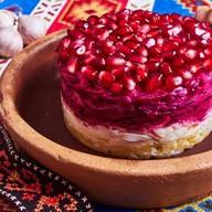 Салат Гранатовый браслет Фото