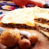Картофельно-грибной пирог Фото