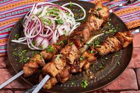 Мцвади (свинина вырезка) - Фото
