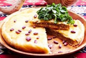 Мясной пирог с фасолью - Фото