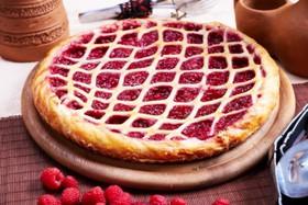 Пирог с лесными ягодами - Фото