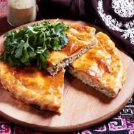 Пирог с курино-сырной начинкой Фото