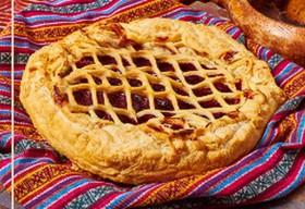 Фруктовый пирог тетушки Нино - Фото
