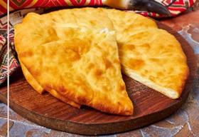 Хачапури с картофельно-сырной начинкой - Фото
