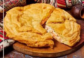 Пирог с рыбой от тетушки Мананы - Фото