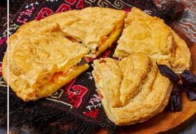 Сырный пирог с базиликом - Фото