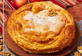 Грузинский яблочный пирог - Фото