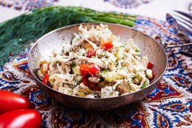 Куриный салат от Майко - Фото