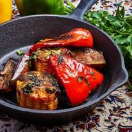 Печеные овощи под фирменным маринадом Фото