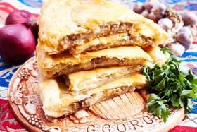 Картофельно-мясной пирог - Фото