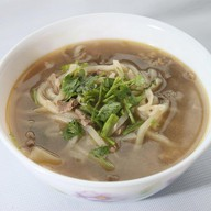 Суп-лапша с говядиной Фото