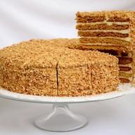Фирменный медовый десерт Фартук Фото