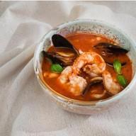 Томатный с морепродуктами Фото