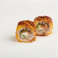 Амондо темпура с лососем Фото
