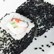 Черная темпура с креветкой Фото