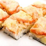 Суши-пицца курочка и грибы Фото