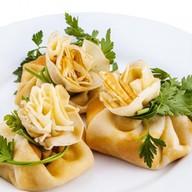 Блинчики со сливочным сыром и семгой Фото