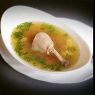 Лапша с куриной голенью (обед) Фото