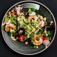 Салат с чукой (обед) Фото