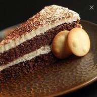 Шоколадно-банановый десерт Фото