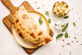Кутабы с сыром и зеленью - Фото