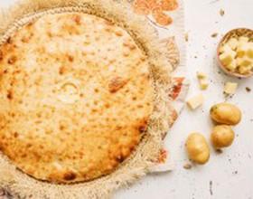 Картофджын с картофелем и сыром - Фото