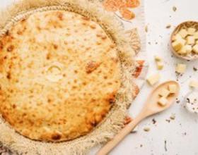 Пирог с курицей и осетинским сыром - Фото