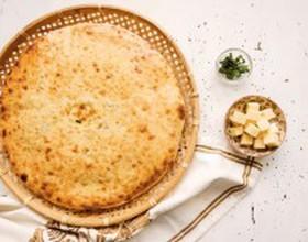 Кадынджын с сыром и зеленым луком - Фото