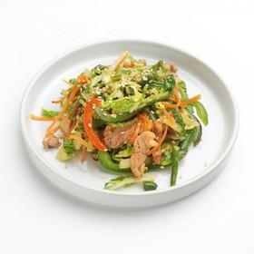 Салат со свининой - Фото