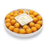 Картофельные шарики + соус чесночный Фото