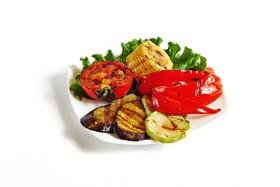 Овощи жареные на гриле - Фото