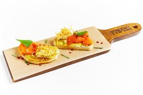 Пинчос с лососем и икрой - Фото