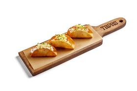 Тапас со сливочным сыром и лососем - Фото