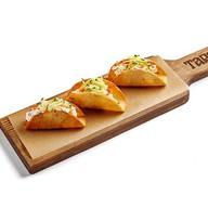 Тапас со сливочным сыром и лососем Фото