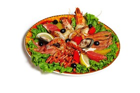 Плато с морепродуктами - Фото