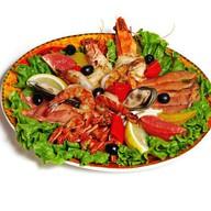 Плато с морепродуктами Фото