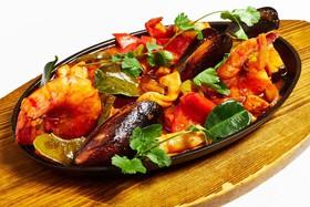 Фахитос Веракруз с морепродуктами - Фото