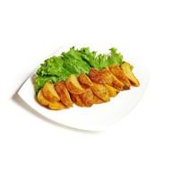 Картофельные дольки с кожурой Фото