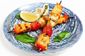 Шашлык из семги и масляной рыбы - Фото