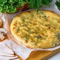 Пирог с курицей,осетинским сыром,грибами Фото