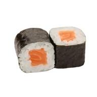 Хосомаки макси с лососем Фото